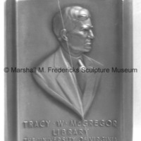 Tracy W. McGregor Portrait Relief.tif
