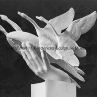 View of plaster model for Wings of the Morning.jpg