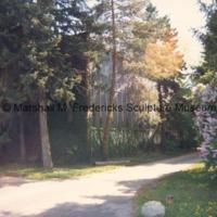 View of Royal Oak studio from driveway.tif