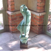 View of small-scale bronze Lord Byron (The Poet).tif