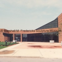 View of the Arbury Fine Arts Center - home of the Marshall M. Fredericks Sculpture Museum.tif