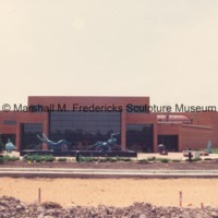 View of the Marshall M. Fredericks Sculpture Museum Sculpture Garden.tif