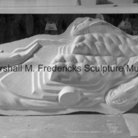 View of the plaster model for Riverboats and Giant Catfish for Spirit of Kentucky.jpg
