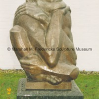 View of The Thinker at an unidentified location - 1994.tif