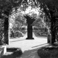View of Wings of the Morning in shadow at Brookgreen Gardens.jpg