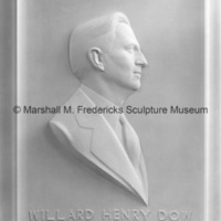 Willard Henry Dow Portrait Relief.tif